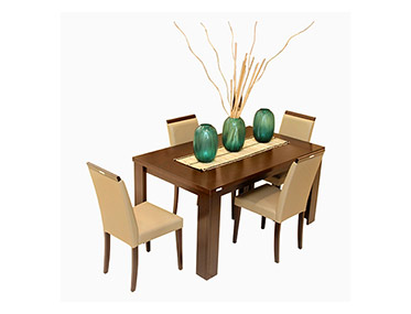 JACK & ROSE DINING SET Godrej Interio Home Furnitures Dining Room Dining Sets