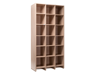 PIGEON HOLES Godrej Interio Office Furniture Storage Aisle and Back Storage