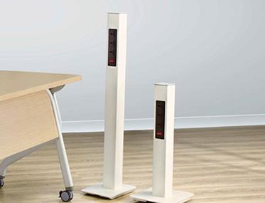 PORTABLE POWER POST Godrej Interio Office Furniture Modular Furniture Habitat