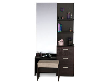 SQUADRO PREMIUM DRESSING TABLE Godrej Interio Home Furnitures Bedroom Dressing tables