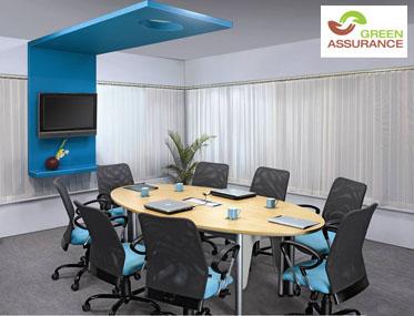 TALK UNITISED Godrej Interio Office Furniture Desking Conference Rooms