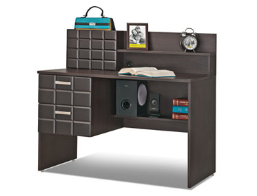 DARK CHOCOLATE STUDY TABLE Godrej Interio Home Furnitures Study Room Study Centers