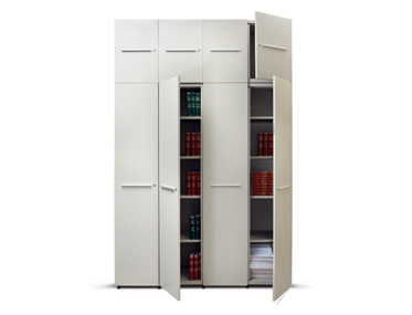 GAIN Godrej Interio Office Furniture Storage Aisle and Back Storage