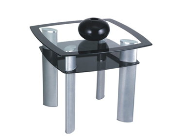 GLAZE CORNER TABLE Godrej Interio Home Furnitures Living Room Coffee Tables