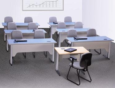 UNLEARN Godrej Interio Office Furniture Desking Training Room Tables