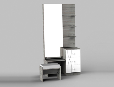 ZEN DRESSING TABLE Godrej Interio Home Furnitures Bedroom Dressing tables