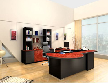 JEFFERSON PRESIDENTIAL SUITE Godrej Interio Office Furniture Desking Premium Suites