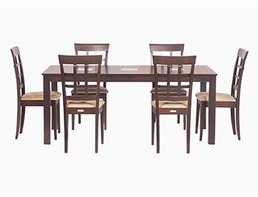 LEO & LISA DINNING SET Godrej Interio Home Furnitures Dining Room Dining Sets