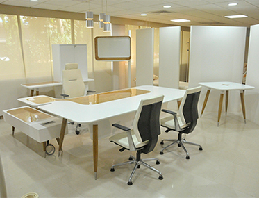 VERTEX Godrej Interio Office Furniture Desking Premium Suites