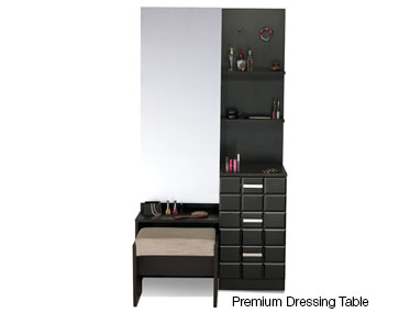 CHOCOLAT PREMIUM DRESSING TABLE Godrej Interio Home Furnitures Bedroom Dressing tables