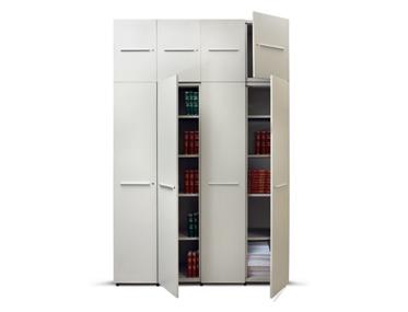 GAIN Godrej Interio Office Furniture Storage Aisle and Back Storage