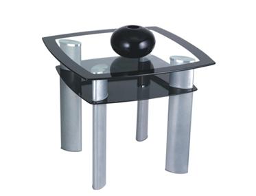 GLAZE CORNER TABLE Godrej Interio Home Furnitures Living Room Coffee Tables