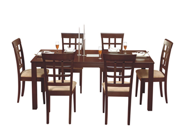 35c4974c12 LEO DINING SET WITH LISA CHAIRS Godrej Interio Home Furnitures Dining Room Dining  Sets