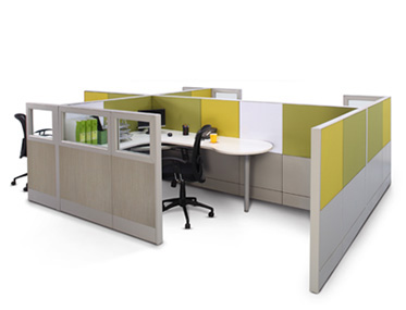 STALLION + Godrej Interio Office Furniture Modular Furniture Tile Based Systems