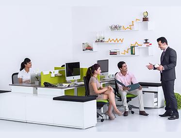 DFINE Godrej Interio Office Furniture Modular Furniture Storage Based System