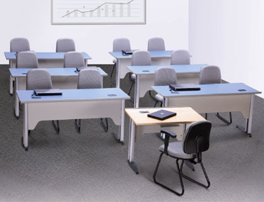 UNLEARN Godrej Interio Office Furniture Desking Training Room Tables